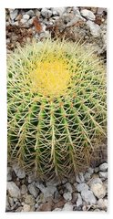 Beach Towel featuring the photograph Xerophyte by Rosalie Scanlon