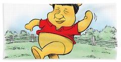 Xi The Pooh Beach Sheet