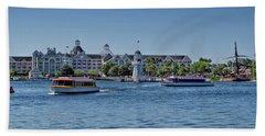 Yacht And Beach Club Walt Disney World Pm Beach Towel