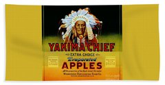 Yakima Chief Apples Beach Towel