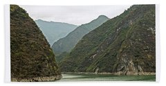 Yangtze Gorge Beach Towel