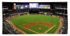 Yankee Stadium 1 Beach Sheet by Nishanth Gopinathan