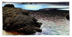 Yaquina Dream Beach Towel by Mick Anderson