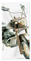 Yard Sale Wooden Toy Motorcycle Beach Sheet