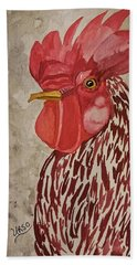 Year Of The Rooster 2017 Beach Towel