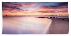 Beach Towel featuring the photograph Yearning For More by Edward Kreis