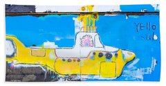 Yello Sub Beach Towel