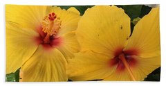 Yellow Beauties Beach Towel