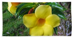 Yellow Beauty Beach Sheet