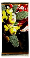 Beach Sheet featuring the photograph Yellow Berries by Joan  Minchak