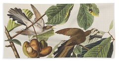 Yellow Billed Cuckoo Beach Towel
