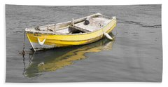 Yellow Boat Beach Sheet