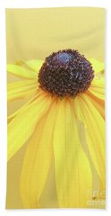 Beach Sheet featuring the photograph Yellow by Cindy Garber Iverson