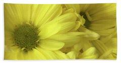 Yellow Daisies Beach Sheet