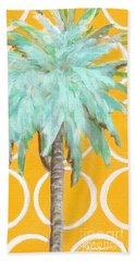 Yellow Delilah Palm Beach Towel