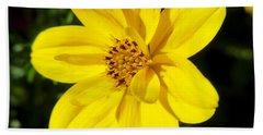 Yellow Flower Beach Sheet