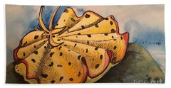 Yellow Nudibranch Beach Towel