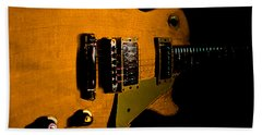 Yellow Relic Guitar Hover Series Beach Sheet