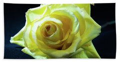 Yellow Rose-7 Beach Towel