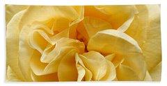 Yellow Ruffles - Rose Beach Towel
