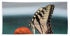 Yellow Swallowtail II Beach Towel
