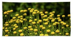 Yellow Tansy Beach Sheet