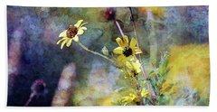 Yellow Wildflowers 3230 Idp_2 Beach Sheet