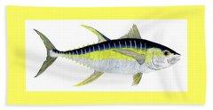 Yellowfin Tuna Beach Sheet