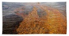 Yellowstone Colors #7 Beach Towel
