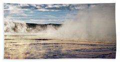 Beach Towel featuring the photograph Yellowstone Colors #10 by Scott Read