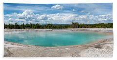 Beach Towel featuring the photograph Yellowstone Colors #11 by Scott Read