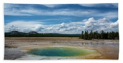 Beach Towel featuring the photograph Yellowstone Colors #12 by Scott Read