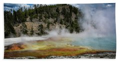 Beach Towel featuring the photograph Yellowstone Colors #13 by Scott Read