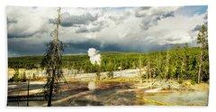 Yellowstone Colors #3 Beach Sheet
