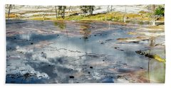 Beach Towel featuring the photograph Yellowstone Colors #4 by Scott Read