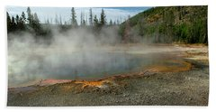 Beach Towel featuring the photograph Yellowstone Colors #5 by Scott Read