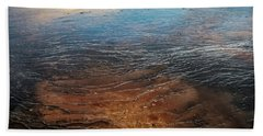 Beach Towel featuring the photograph Yellowstone Colors #6 by Scott Read