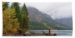 Yellowstone Lake Fall Beach Sheet