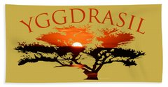Yggdrasil- The World Tree Beach Sheet
