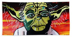 Yoda  Come Home Beach Towel