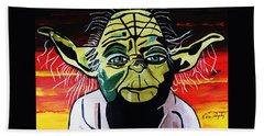 Yoda  Come Home Beach Sheet