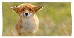 Yoda - Funny Fox Beach Towel