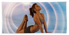 Yoga Girl 1209206 Beach Sheet