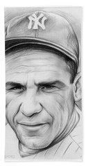 Yogi Berra Beach Towel