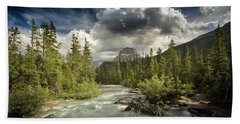 Yoho National Park Beach Towel