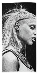 Yolandi Visser Beach Sheet
