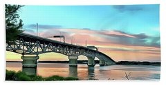 York River Bridge Beach Towel