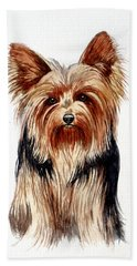 Yorkie Beach Sheet
