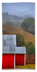 Yorkville Barn Beach Towel by Josephine Buschman