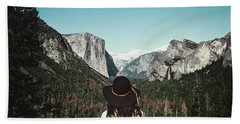 Yosemite Awe Beach Towel